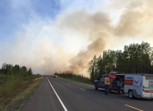 Fire 155 Seaton Roadhouse Fire, May 20, 2015 Alaska Division of Foreestry photo