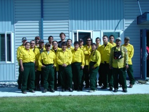 Crew Photo for Emergency Firefighter Team