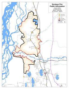 Sockeye Fire Map 6-21