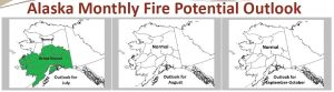 Alaska fire potential outlook