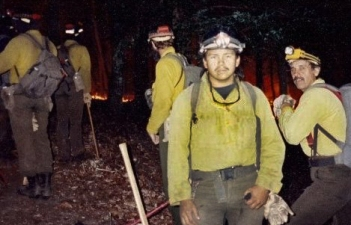 Calvin Moses worked a number of years as a BLM Alaska Fire Service hotshot. Photo courtesy Calvin Moses.