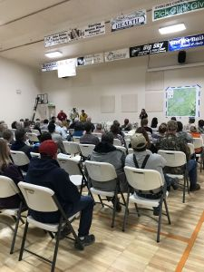 East Fork Fire Community Meeting in Sterling on 6/19