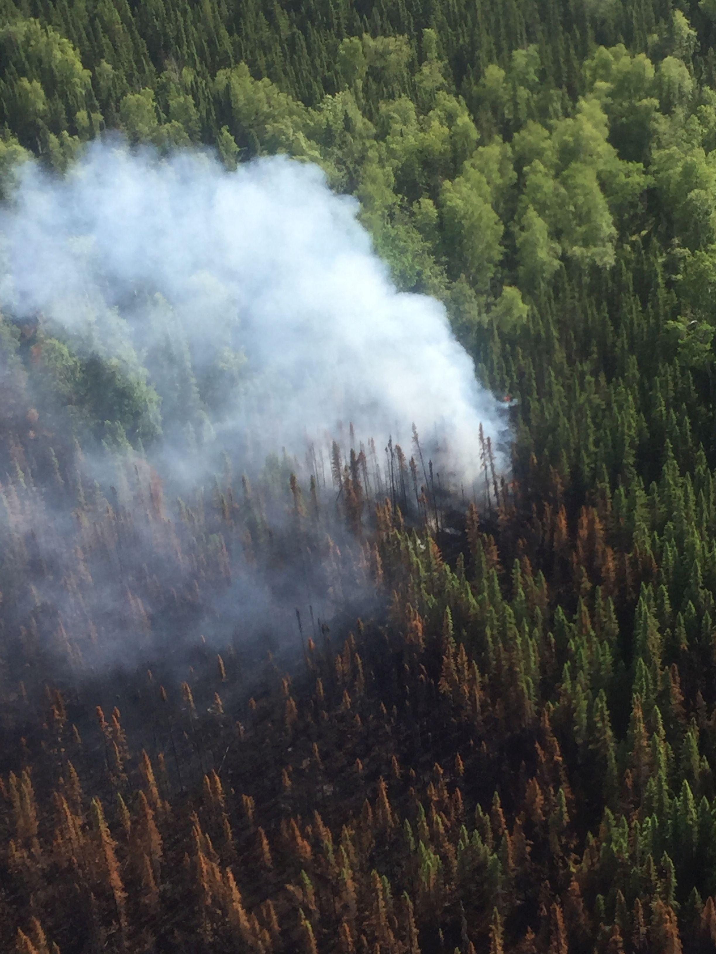 East Fork Fire Temporary Flight Restriction Still In Place – Radio Kenai