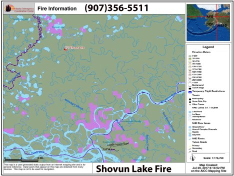 Fort Yukon Alaska Map.Smokejumpers Aircraft Work On New Fire North Of Fort Yukon Ak