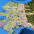This Alaska Interagency Coordination Center map shows the location of the 31 active fires in Alaska as of Sept. 15, 2017.