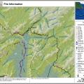 Map of Fire 103 Ready Bullion Creek