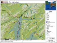 Map of Fire 103 Ready Bullion Creek