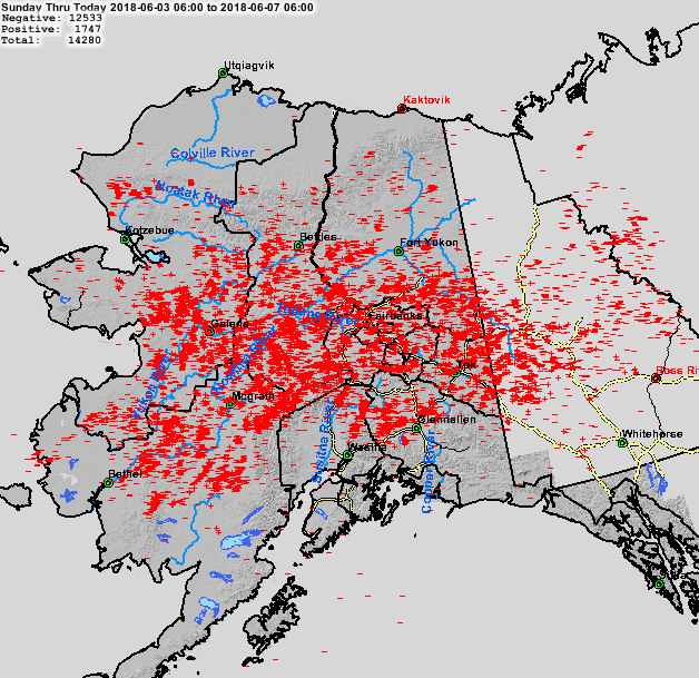 Kaktovik Alaska Map.Lightning Strikes Spark Dozens Of New Wildfires Across Alaska Ak