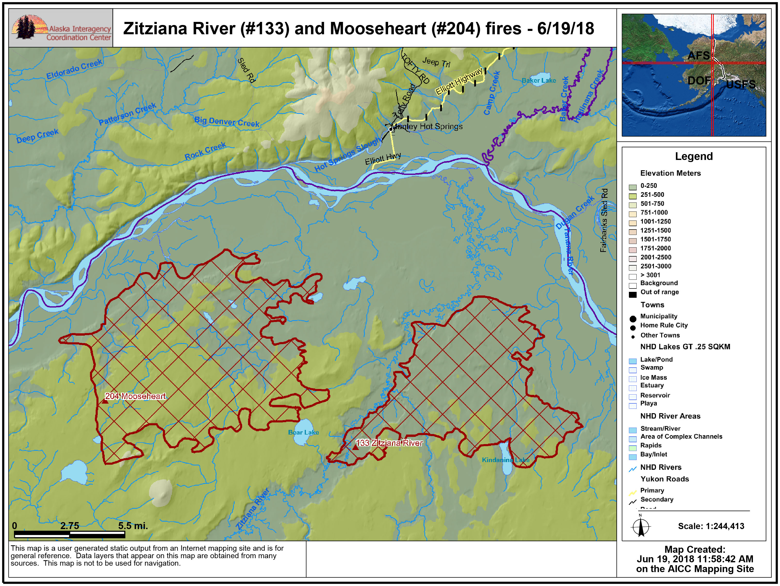 Big Bear Lake Fire Map.No New Growth Reported On Zitziana And Mooseheart Fires Ak Fire Info