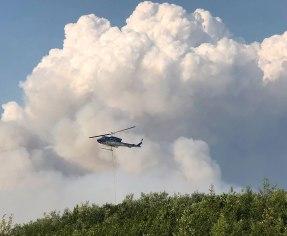 Shovel Creek Fire June 29 2019
