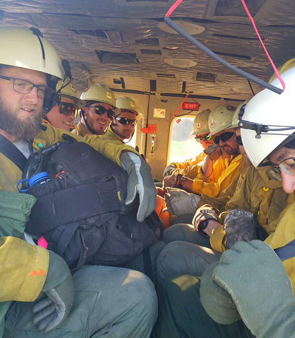Additional Type 1 and Type 2 crews are bolstering efforts to establish control lines on the eastern edge of the Swan Lake Fire.