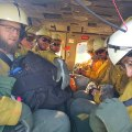 Crews Bolster Efforts of Firefighters
