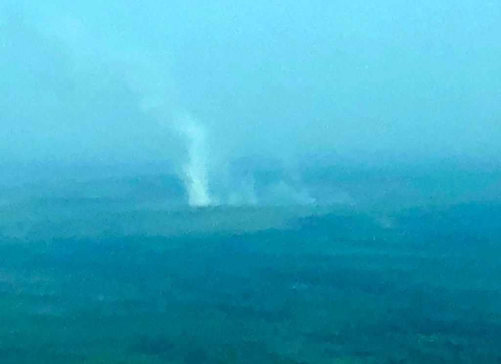 Aerial Photograph of Fire 687 on July 26th 2019