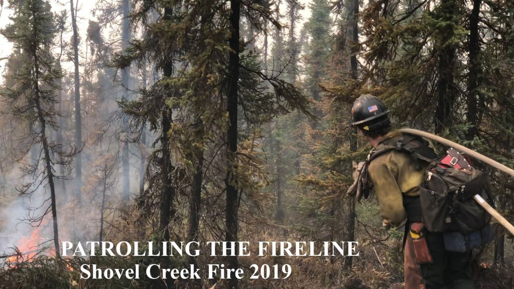 Shovel Creek Creek: Bringing You to the Dozer Line for Mopup July 10 2019