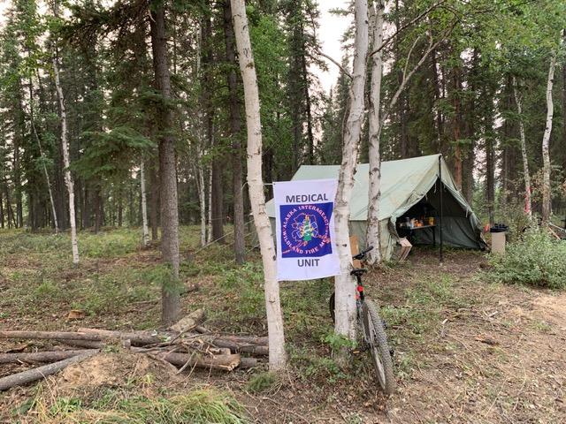 Incident Medical Tent: Photo Credit Ed Sanford
