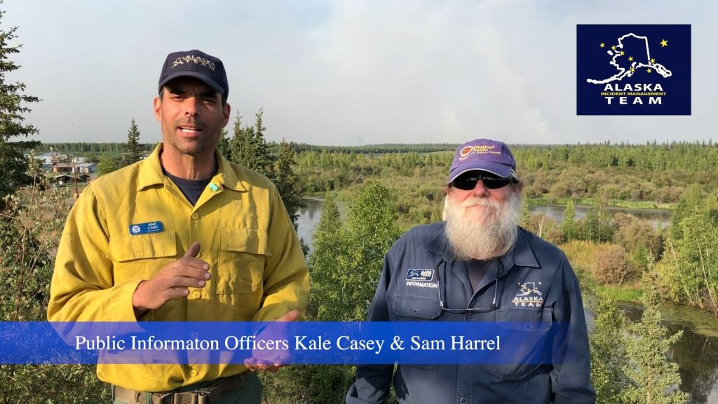 Live: Chalkyitsik Complex Fire Friday July 26 2019 Update from the Yukon Flats
