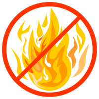 graphic for open fire ban