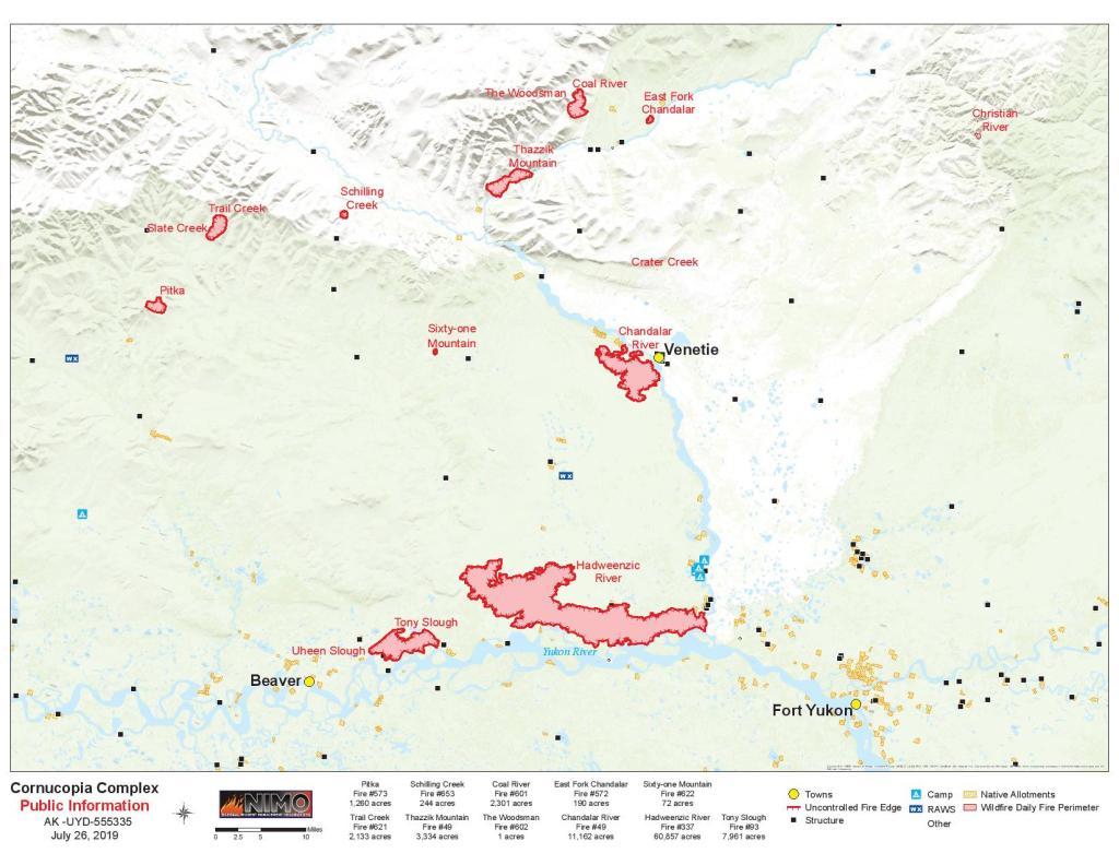 Cornucopia Complex map for July 26