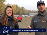Live - McKinley Fire Video With Special Guest and Crew Boss Tom Smith Wildfires 2019