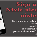 Graphic for signing up for Nixle alerts.
