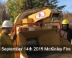 McKinley Fire - Chipper and Masticator Footage Up Close