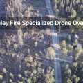 McKinley Fire Video: Drone Footage Showing Burn Intensities and Fire Weakened Trees Falling Down