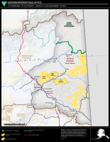Map of BLM Eastern Interior Field Office boundaries.