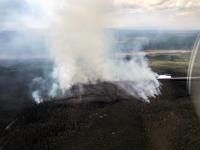Photo of Isom Creek Fire.
