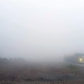 Heavy fog in Yukon River valley on June 20, 2020