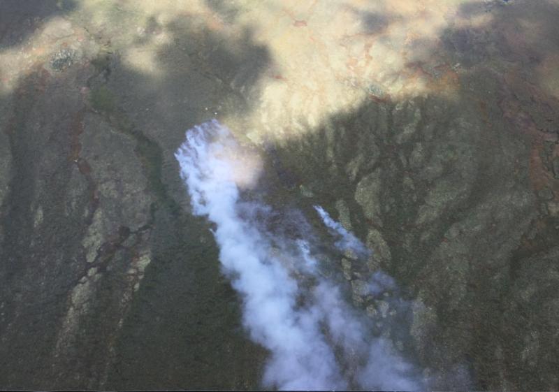 Photo of Birch Creek Fire on July 14, 2020