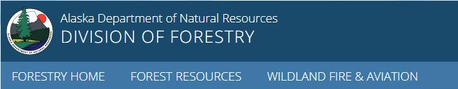 Alaska Division of Forestry masthead