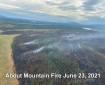 Aerial photo June 23rd 5pm by Type 3 Incident Commander Pat Johnson