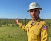 Video update for Loon Lake Fire at 6pm on Monday June 14th